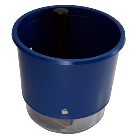 Vaso Autoirrigável Azul <br> Ø 16cm x 14cm