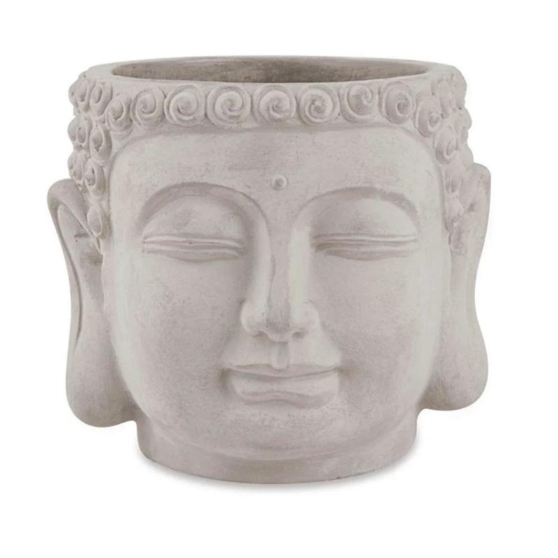 Cachepot Buda cimento