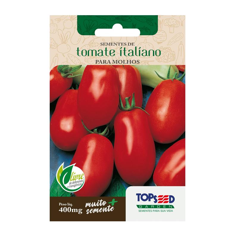 Sementes de Tomate Italiano 400mg