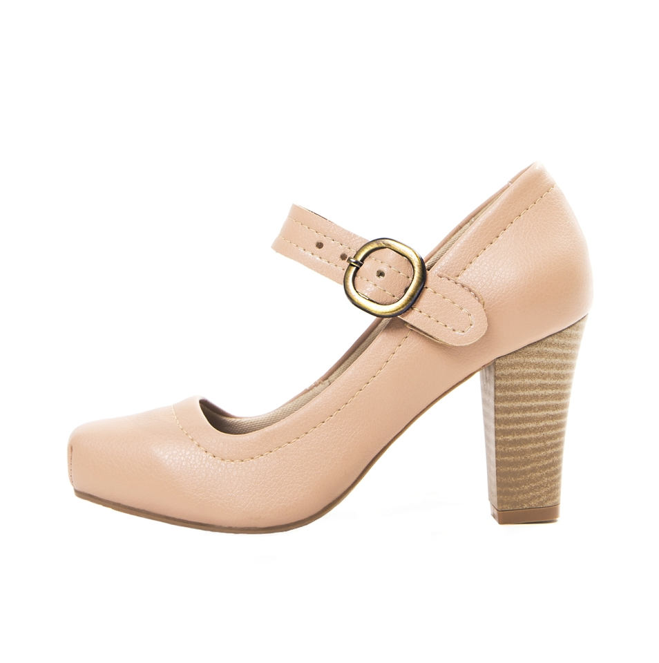 Sapato Pri Gonçalves Luxo Boneca Nude