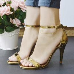 Sandalia Basica Specchio Bronze