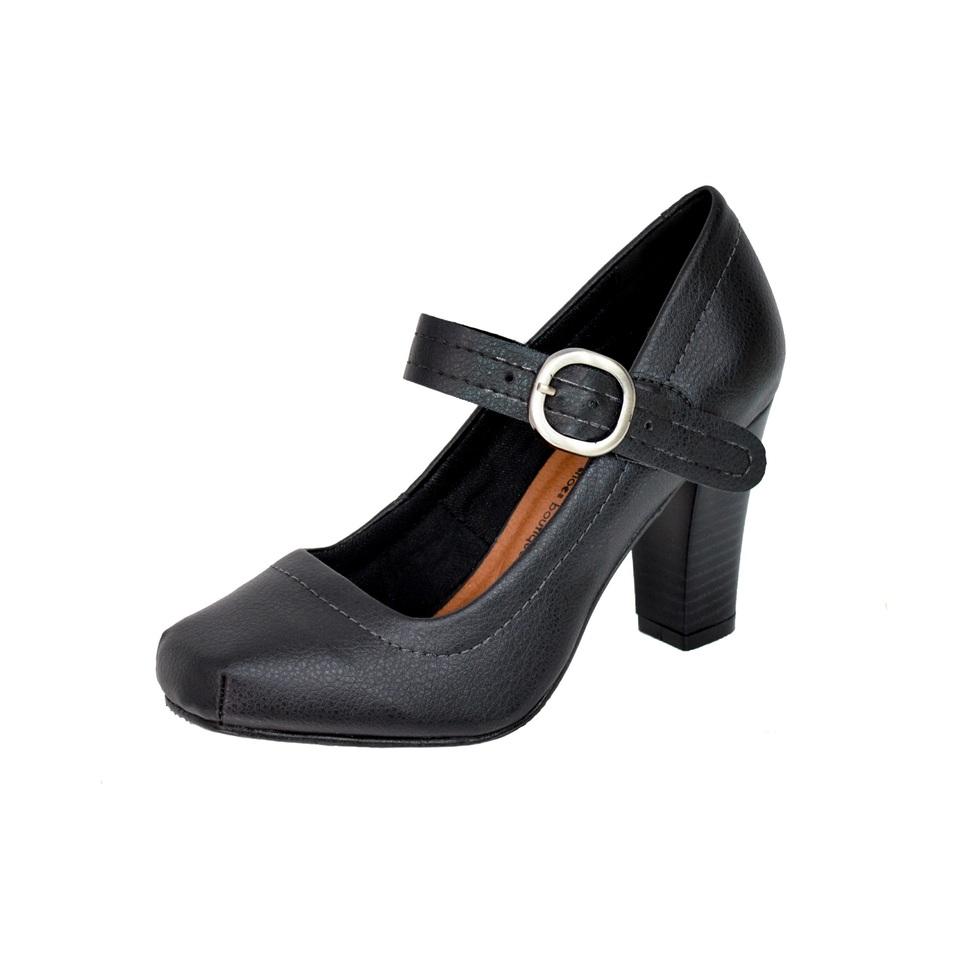 Sapato Pri Gonçalves Luxo Boneca Preto