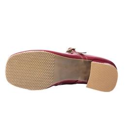 Sapato Pri Gonçalves Luxo Retrô Vermelho