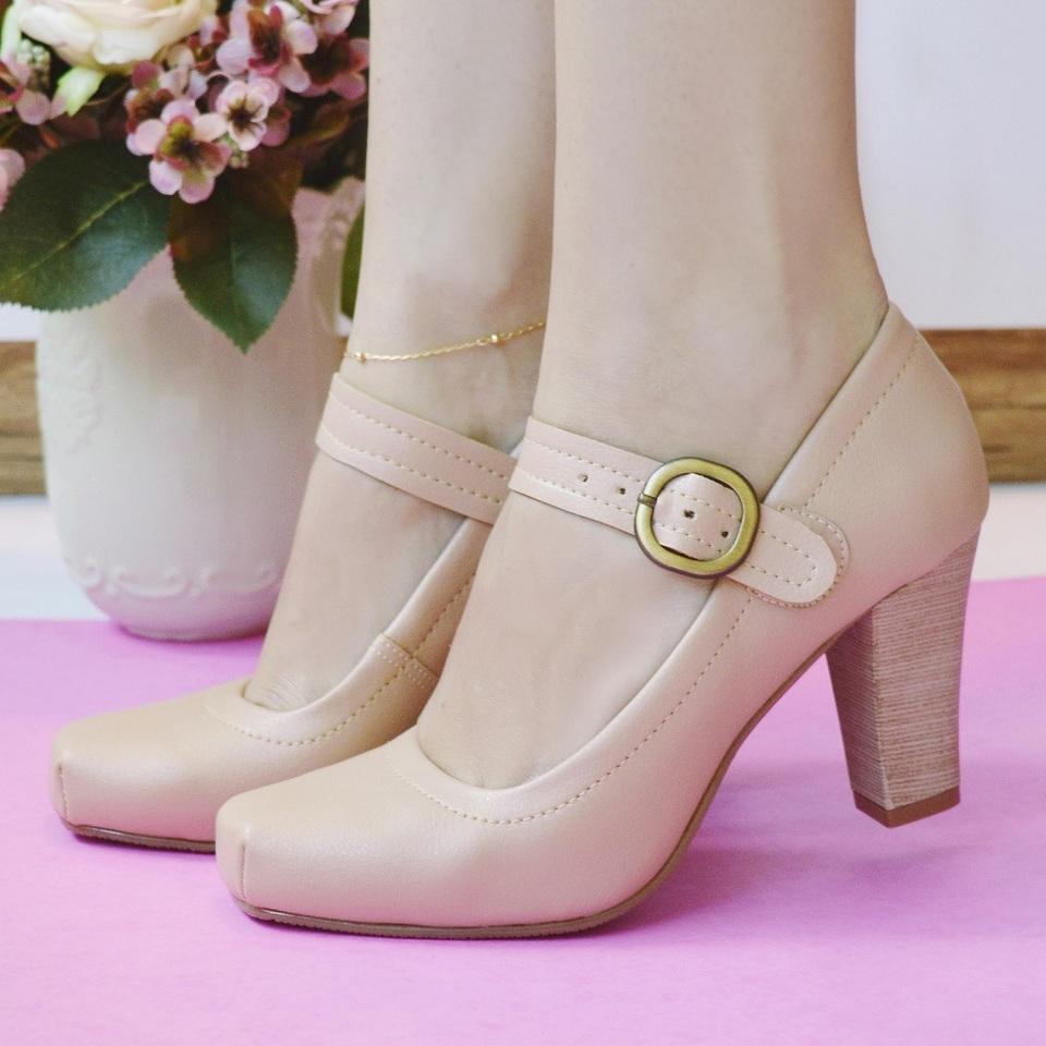 Sapato Boneca Nude