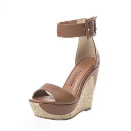 Sandalia Plataforma Caramelo