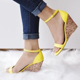 Anabela Basica Verniz Amarelo