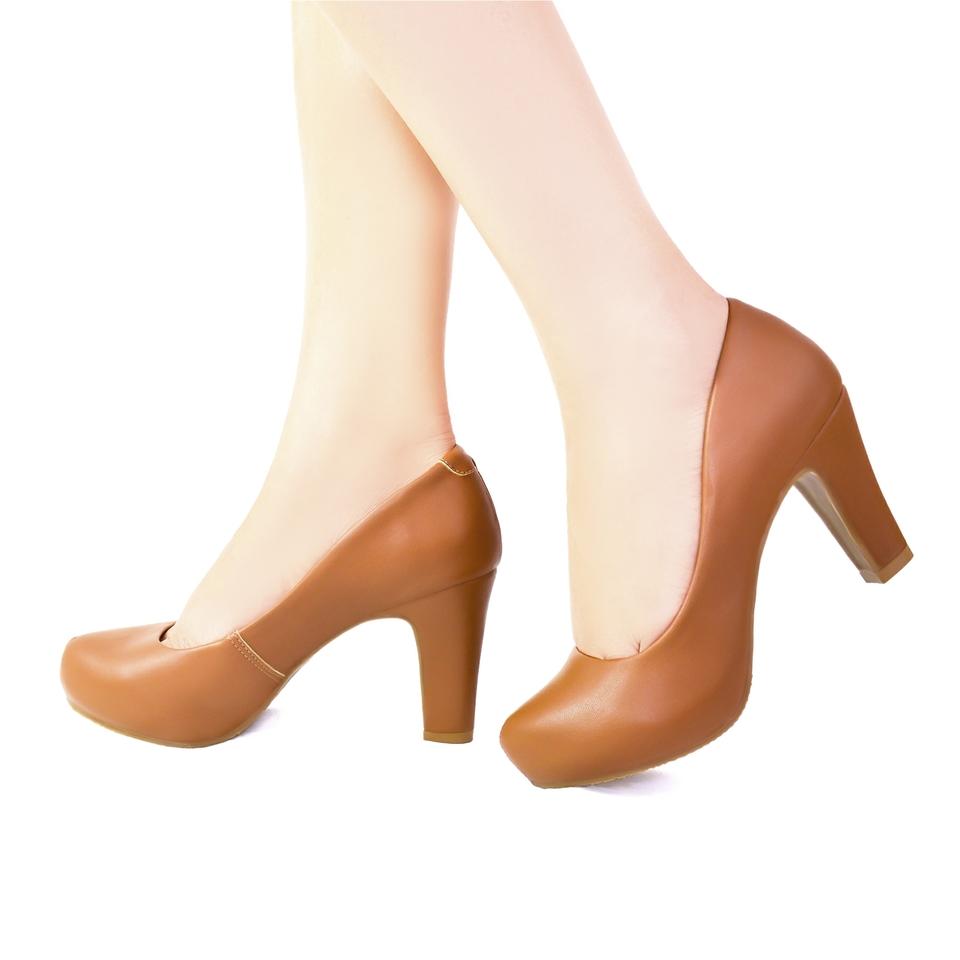 Sapato Meia Pata Caramelo