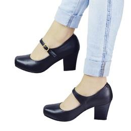 Sapato Boneca Preto