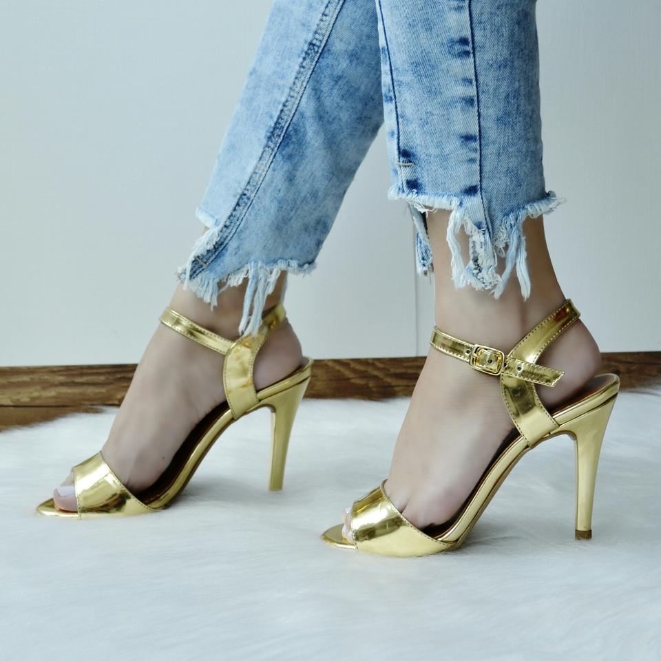 Sandália Dourada (SEM TROCA)