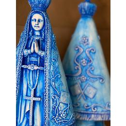 Nossa Senhora Barroca Azul