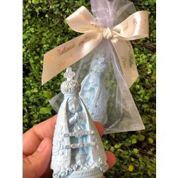 Nossa Senhora Aparecida 10cm Azul