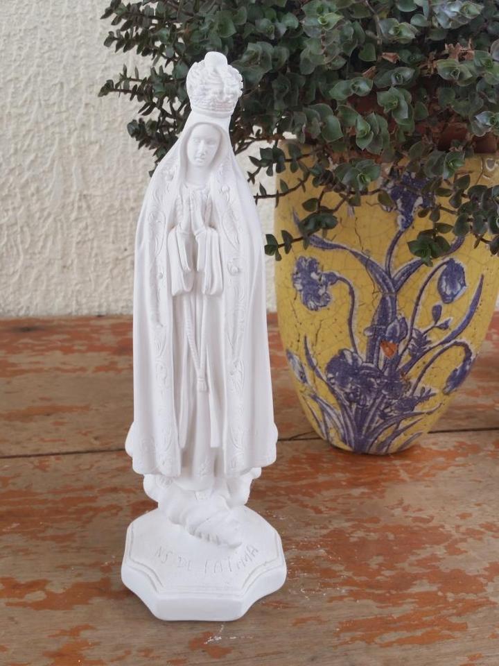 Nossa Senhora de Fátima 30cm crua