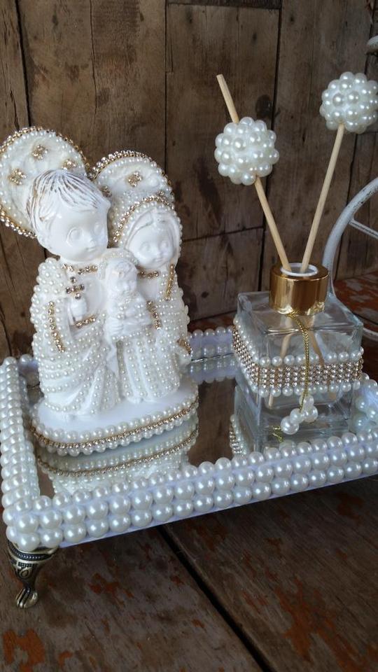 Bandeja com Sagrada Família Baby Mini