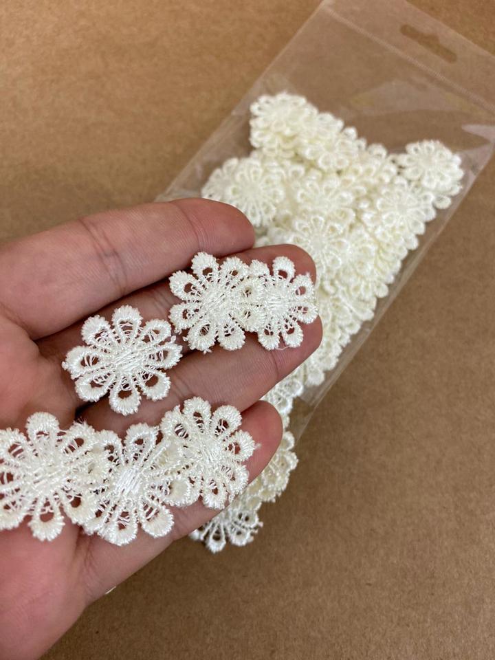 Guipir Flor marfim