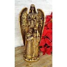 Santo Anjo Abençoando a Família de Nazaré Barroco