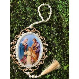 Medalhão Sagrada Família