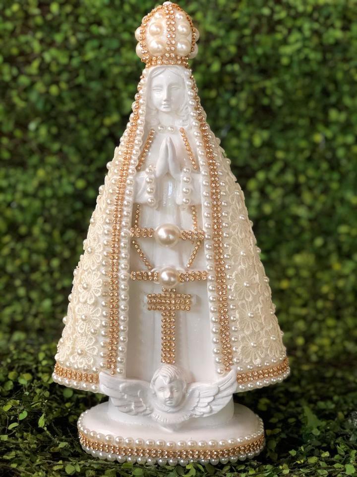 Nossa Senhora Aparecida guipir Marfim