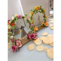 Arco Flores Nossa Senhora
