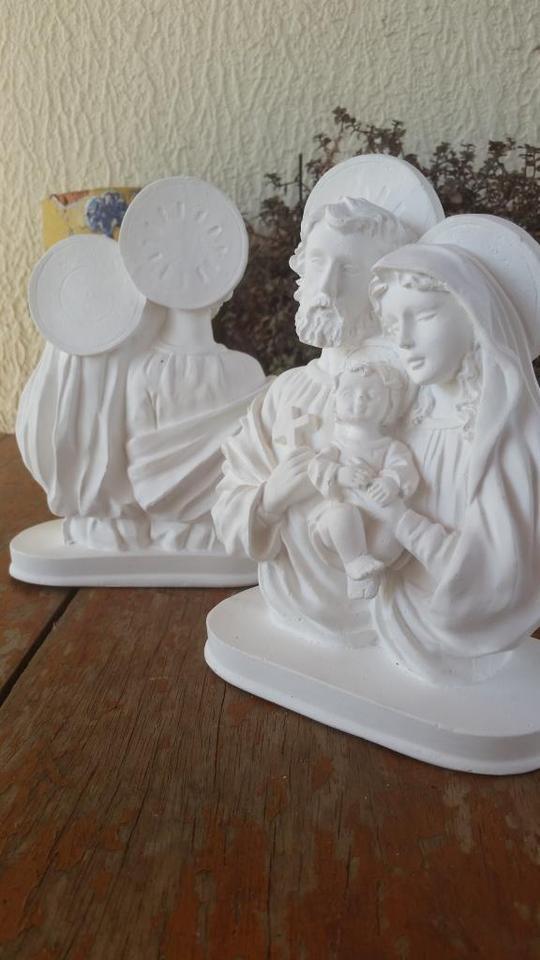 Sagrada Familia Busto 20cm Crua