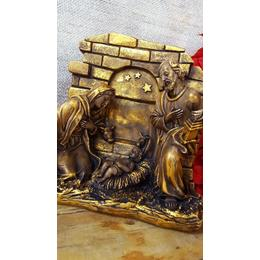 Jesus na Manjedoura Barroco