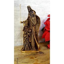 Presépio José com Cajado, Maria e Menino Jesus Barroco