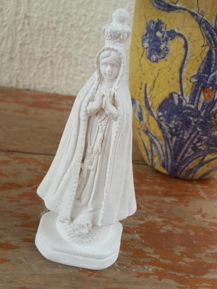 Nossa Senhora Aparecida 15cm Crua
