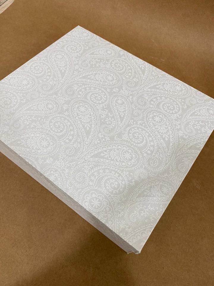 Caixa forrada Tecido 20x25cm