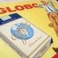 Propaganda dos Cigarros GLOBO Arte Final Para Cartazete Publicitário, Pintado a Mão  Assinado Pelo Artista, Original de 1971