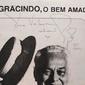 Opusculo da Peça Teatral O BEM AMADO com PAULO GRACINDO,Teatro Canecão Autografado por Paulo Gracindo em 1981