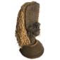 TRIBO BAMILEKE Duas Máscaras de Bronze Fundido, Original de CAMARÕES, Medindo 60cm
