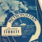 Propaganda De Espetáculo METROPOLITAN  Original de 1936