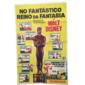 Cartaz No Fantástico Reino Da Fantasia 1969  Original