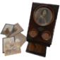 Visor GRAFOSCÓPIO Usado em Salas de Estar Para Melhorar a Visualização de Fotografias e Texto, Original do Século XIX
