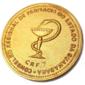 Medalha do Conselho Regional de Farmácia do Estado da Guanabara Ano 1970