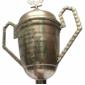 """CORRIDA Taça de Corrida 3° Lugar na V° PROVA PEDESTRE """"Conceição de Barra Mansa"""" - Morungaba 29 de Junho de 1963"""