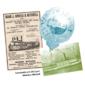 BARCO A VAPOR : Peças de Serviço WALKER & HALL do Barco VAPOR LOBÃO PARÁ Original do Início do Século XX