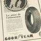 Propaganda De Pneus GOODYEAR  Original de 1929