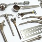 Lote de Instrumentos Cirúrgicos de CLINICA ORTOPÉDICA Meados do Século XX