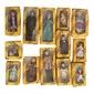 Coleção CASA DE BONECAS da Edições DEL PRADO Contendo 13 Bonecas De Porcelana