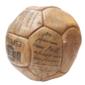 Bola DRIBLE Oficial C.B.D. Autografada por RIVELLINO, ROBERTO DINAMITE, ZÉ MARIO e Outros Jogadores nos Anos 1970