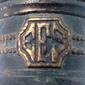 Luminária de Vagão Com Monograma EFS ESTRADA DE FERRO SOROCABANA Inicio do Século XX