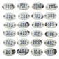 Lote de Placas ANTIGAS Esmaltadas Numeradas, Peças Originais de Reposição