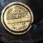 Frasco de Vidro do Laque CONKIST Campinas  Original dos Anos 1950