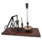 Instrumento Científico  BOMBA DE VÁCUO Original de Meados do Século XIX