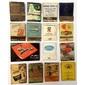 Lote de Caixas de Fósforo PROPAGANDAS de Meados do Século XX