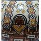 Vaso em Cerâmica Representando A LENDA DO SETESTRELO Astronomia Indígena, Tema Pintado a Mão e Assinado