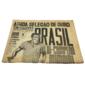 COPA DE 1962 Jornal a Noticia BRASIL BICAMPEÃO MUNDIAL! - EDIÇÃO EXTRA - Rio de Janeiro, 17 de Junho de 1962.