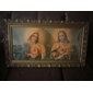 Quadro Sagrado Coração JESUS e Maria Medindo 86cm