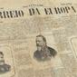Jornal CORREIO DA EUROPA Edição do Brazil, Lisboa 6 de Abril de 1892