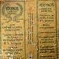 Coleção de Embalagens de CREMES DENTAIS Originais de Meados do Século XX